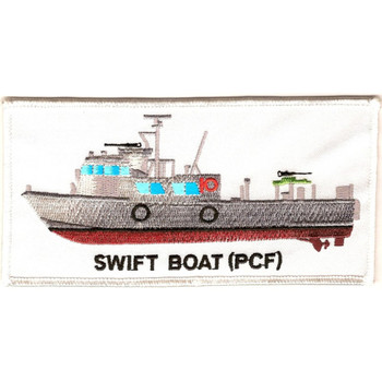 Swift Boat PCF Fast Patrol Craft Patch