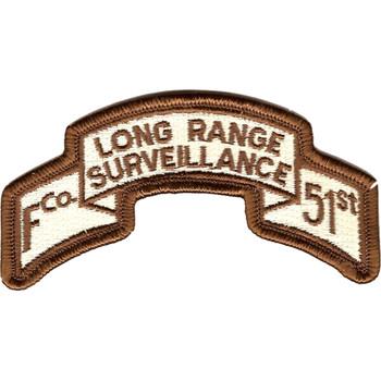 51st Infantry Regt f Co Long Range Desert Patch