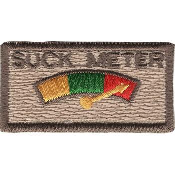 Suck Meter Desert Patch