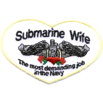 Submarine Wife Patch