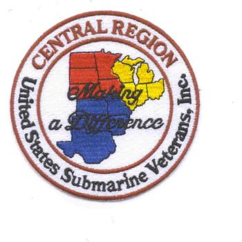 Submarine Veterans Central Region Patch
