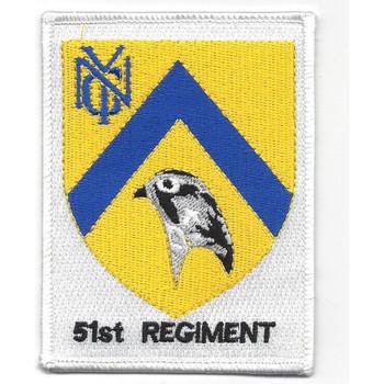 51st Infantry Regiment NYG Patch