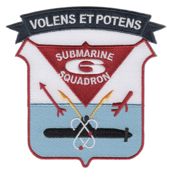 Submarine Squadron Six Patch