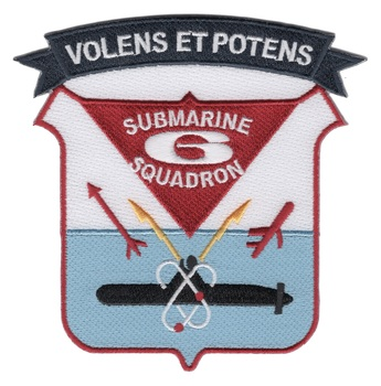 Submarine Squadron Six Patch