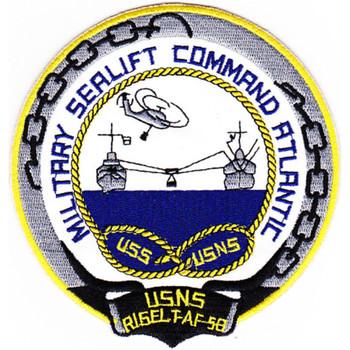 USNS Rigel T-AF-58 Patch