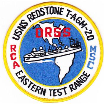 USNS Redstone Vanguard T-AGM-20 Patch