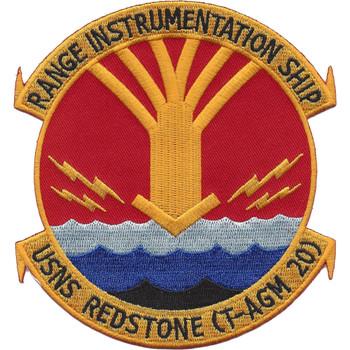 USNS Redstone T-AGM 20 Patch