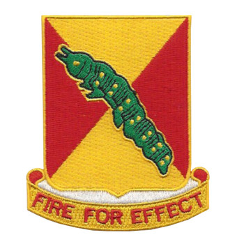 51st Field Artillery Battalion Patch