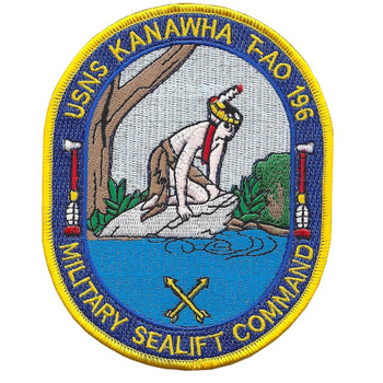 USNS Kanawha T-AO 196 Patch