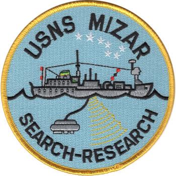 USNS Mizar T-AGOR-11 Patch