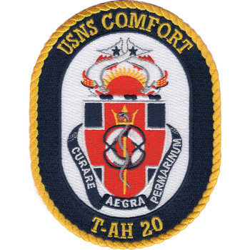 USNS Comfort T-AH-20 Hospital Ship Patch