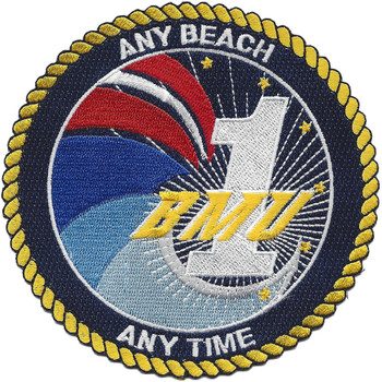 USN BeachMaster Unit One Patch