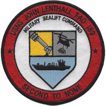 USNS John Lenthall T-AO 189 Patch