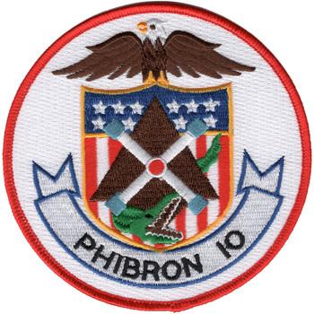 US Navy PhibRon 10 Amphibious Squadron Ten Patch