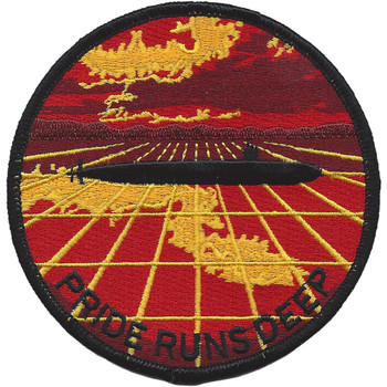 U.S. Navy Nuke Submarine Pride Run Deep Patch