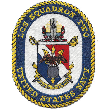 U.S. Navy LCS Squadron Two Patch