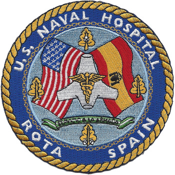 U.S. Navy Hospital Rota, Spain Patch