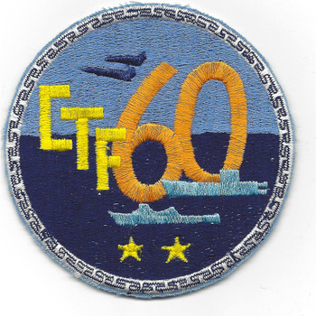 U.S. Navy CTF 60 Patch