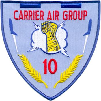 U.S. Navy Carrier Air Group Ten Patch