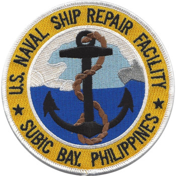 US Naval Ship Repair Facility Subic Bay Philippines Patch
