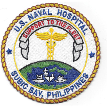 U.S. Naval Hospital Subic Bay Philippines Patch