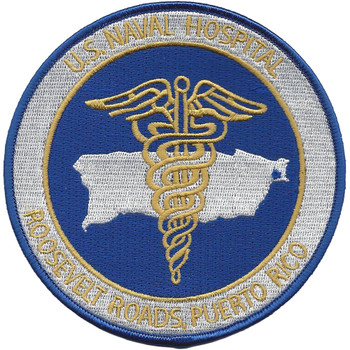 US Naval Hospital Roosevelt Roads Puerto Rico Patch