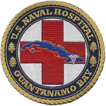 US Naval Hospital Guantanamo Bay Patch