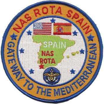 U.S. NAS Rota, Spain Patch