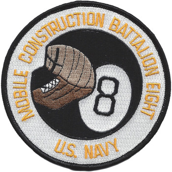 U.S. Mobile Construction Battalion 8 Patch