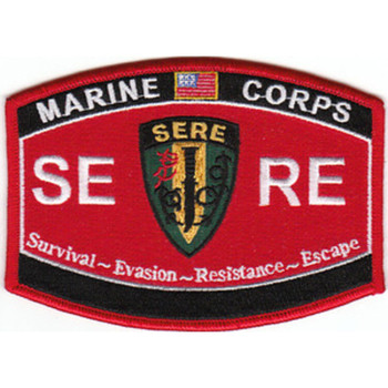 USMC-SERE Survival-Evasion-Resistance-Escape Patch