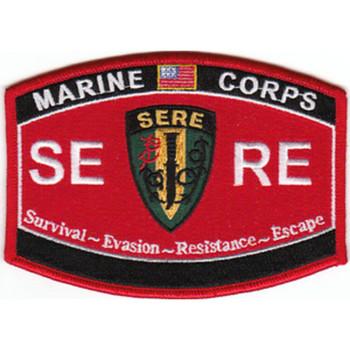 USMC-SERE Survival-Evasion-Resistance-Escape Patch