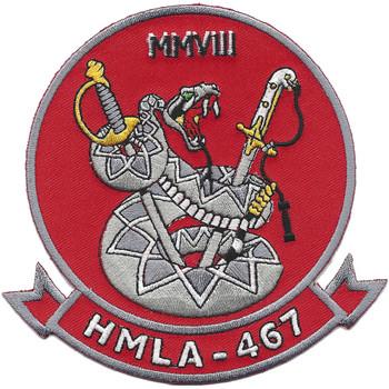 USMC HMLA-467 Patch