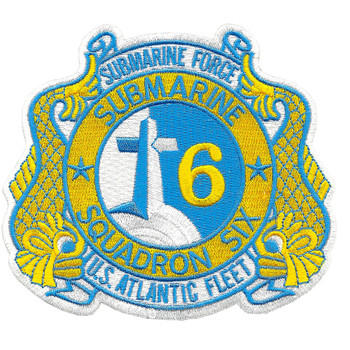 Submarine Squadron 6 Patch