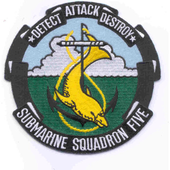 Submarine Squadron 5 Patch
