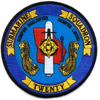 Submarine Squadron 20 Patch