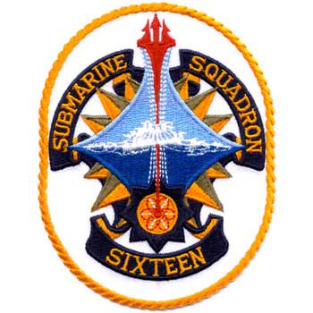 Submarine Squadron 16 Patch