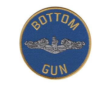 Submarine Service Bottom Gun Patch