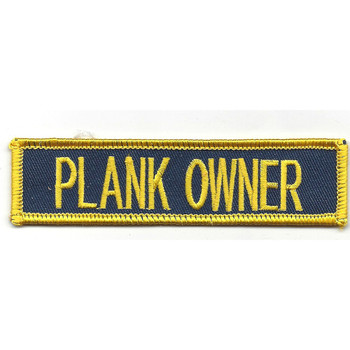 Submarine Plank Owner Patch