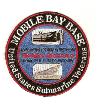 Submarine Mobile Bay Base Patch