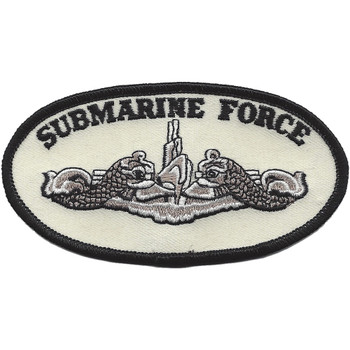 Submarine Force Silver Patch