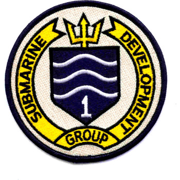 Submarine Development Group One Patch