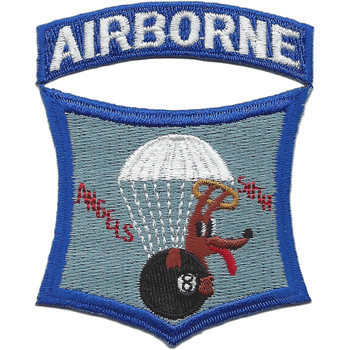 511th Infantry Airborne Regiment Angels Eight Ball Dog Patch