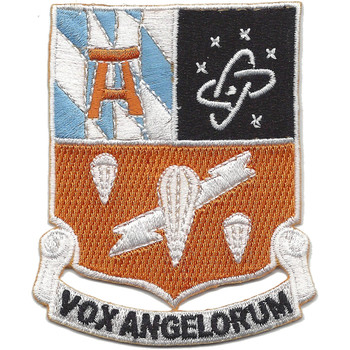 511Th Airborne Signal Battalion Patch Vox Angelorum