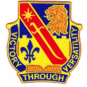 STB-77 Patch 1st Brigade Combat Team 1st Infantry Division