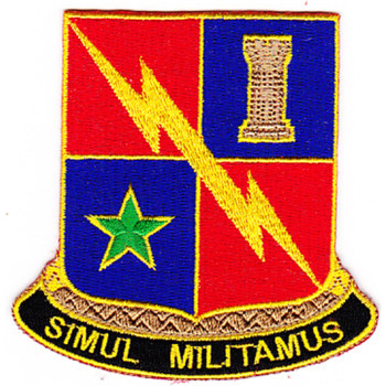 STB-69 Patch 1st Infantry Armor Division