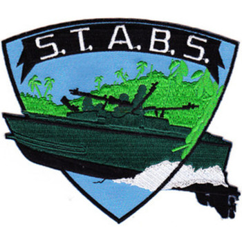 STABRON 20 Seal Team Assault Boat Squadron Twenty S.T.A.B.S. Patch