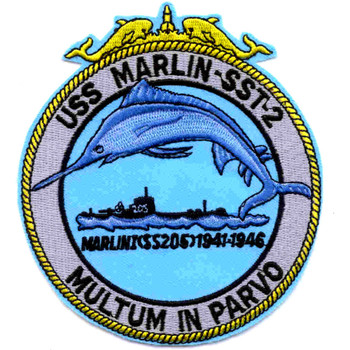 SST-2 USS Marlin Patch