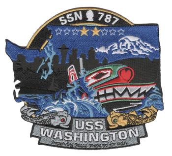 SSN-787 USS Washington Patch