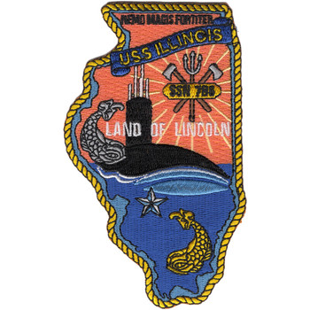SSN-786 USS Illinois Patch