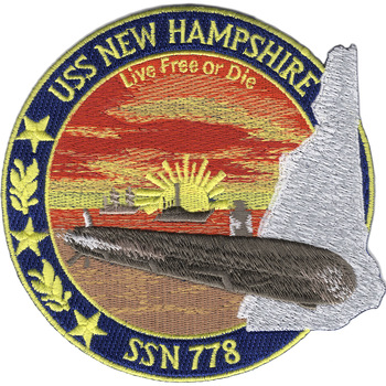 SSN-778 USS New Hampshire Patch